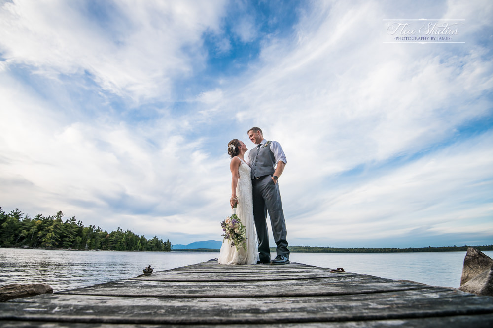 Millinocket Lakes Wedding Photos