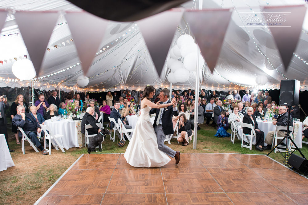 First Wedding Dance Tent OCF