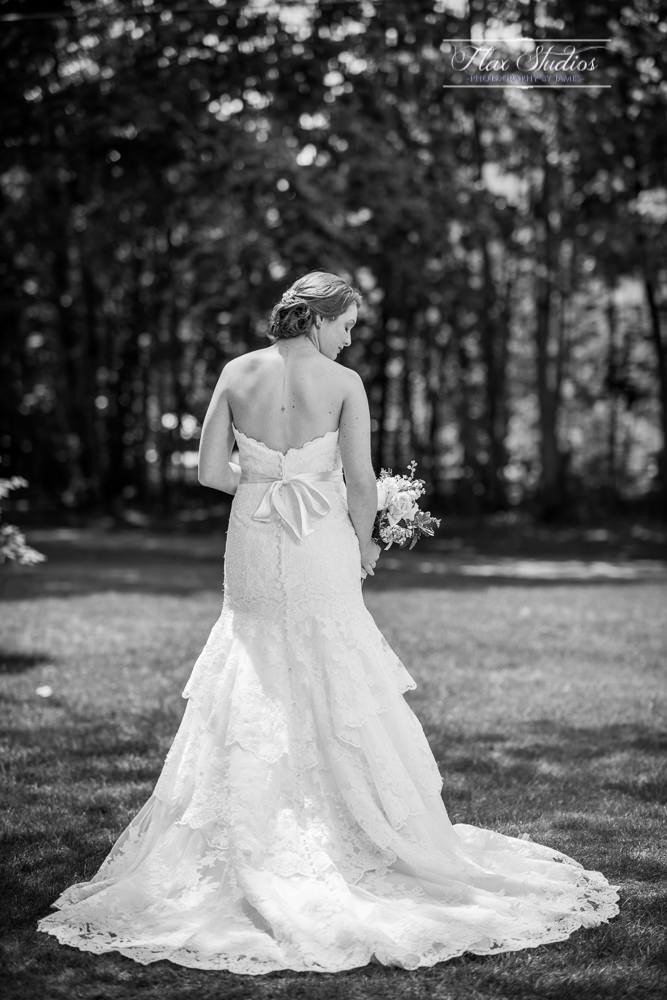 Bridal Portrait look back