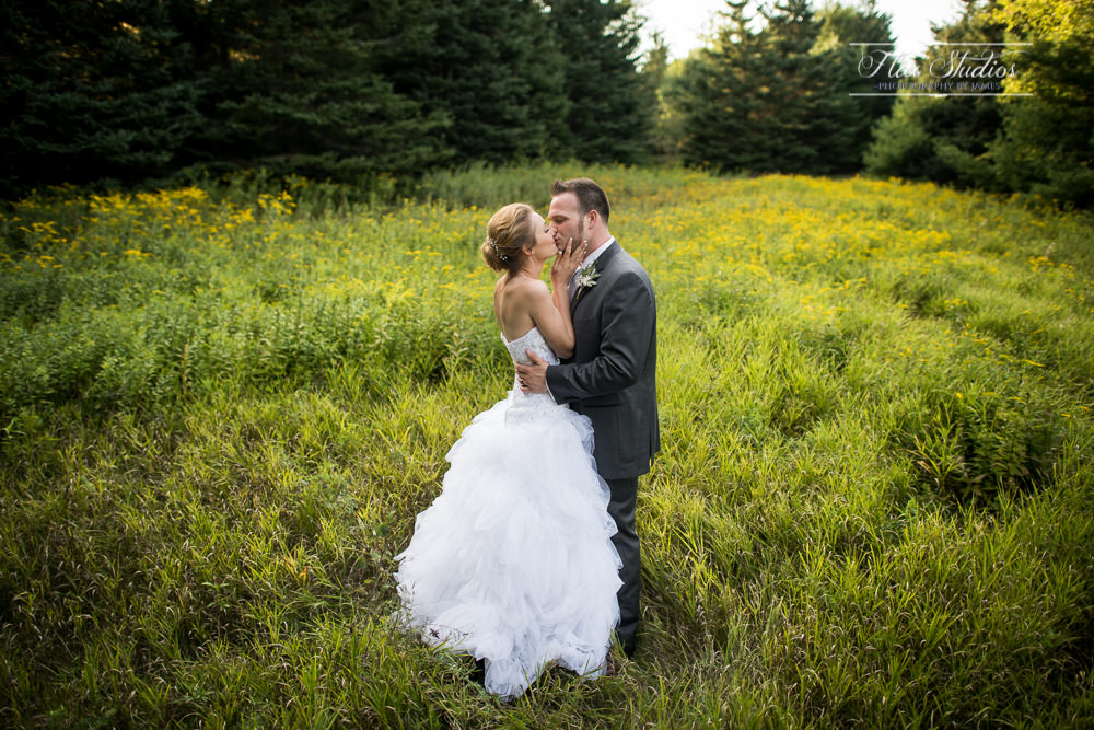 private field bride and groom photos