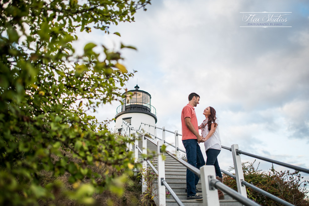 Owls Head Lighthouse engagement