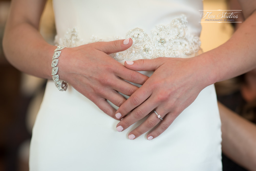 bride fiddling