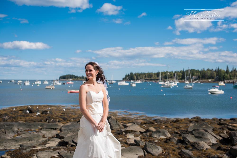 Tenants Harbor Bridal shots
