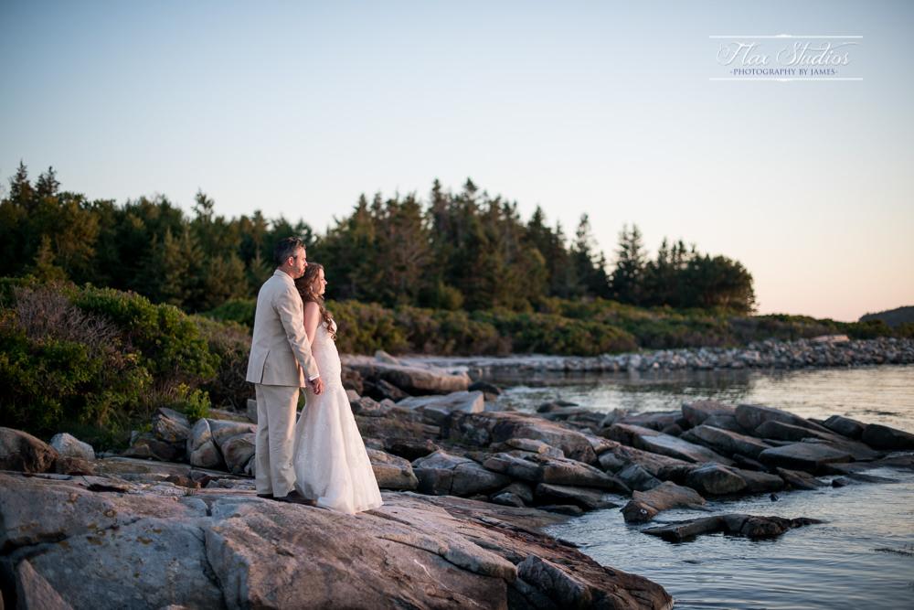 Scenic Maine Sunset Photos