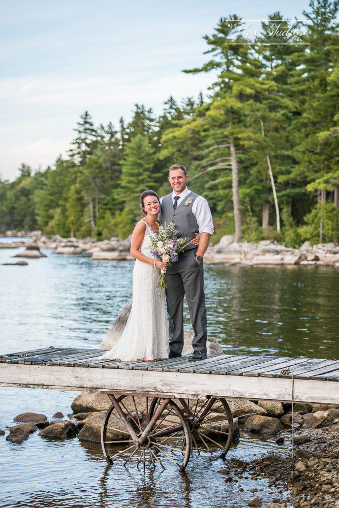Millinocket Lake Wedding