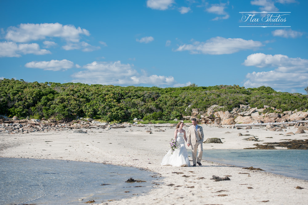 Having your ceremony on a sandbar