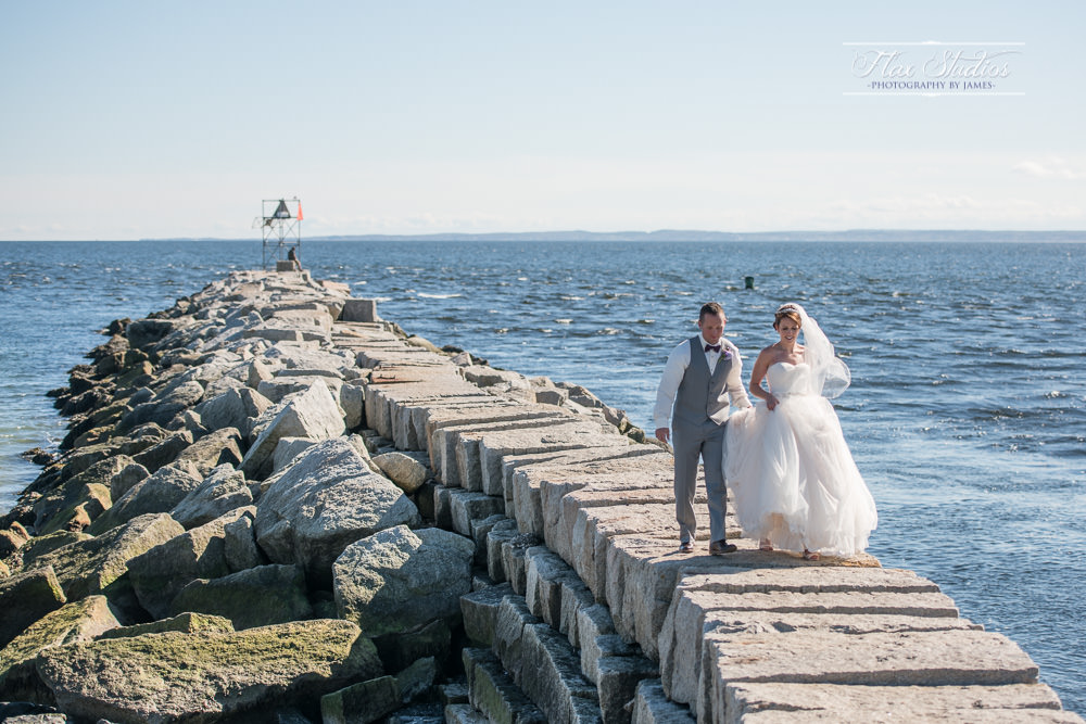Kennebunk Beach Wedding Flax Studios
