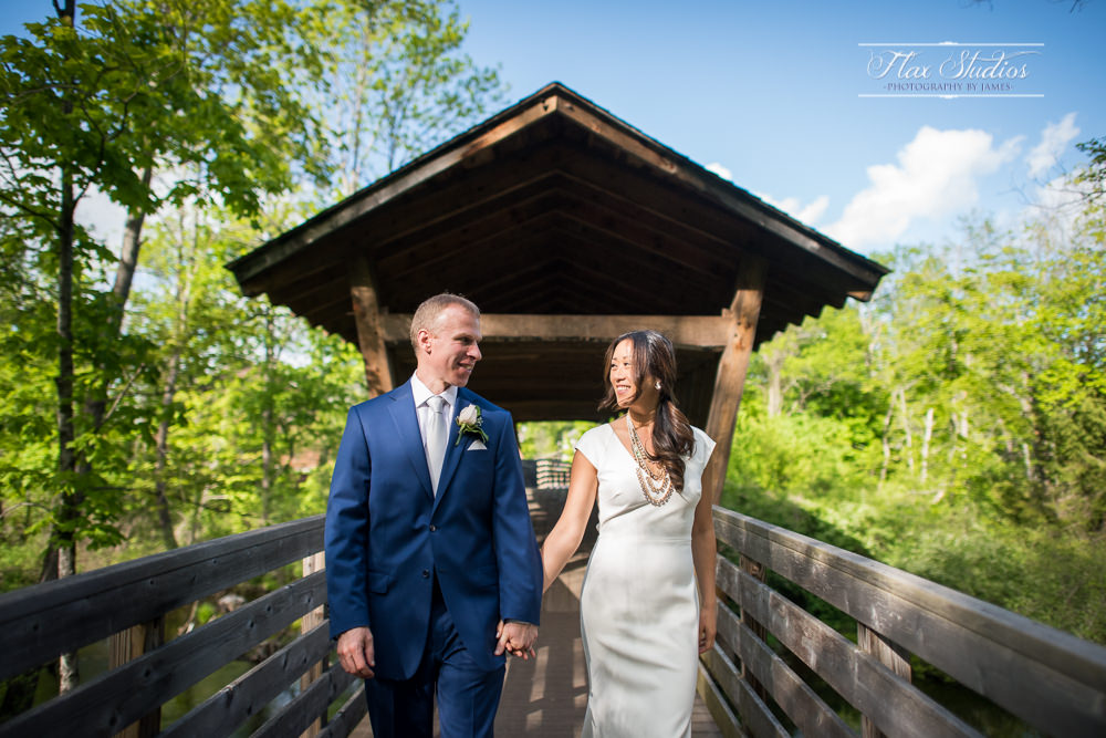 Covered Bridge Wedding Photos Flax Studios