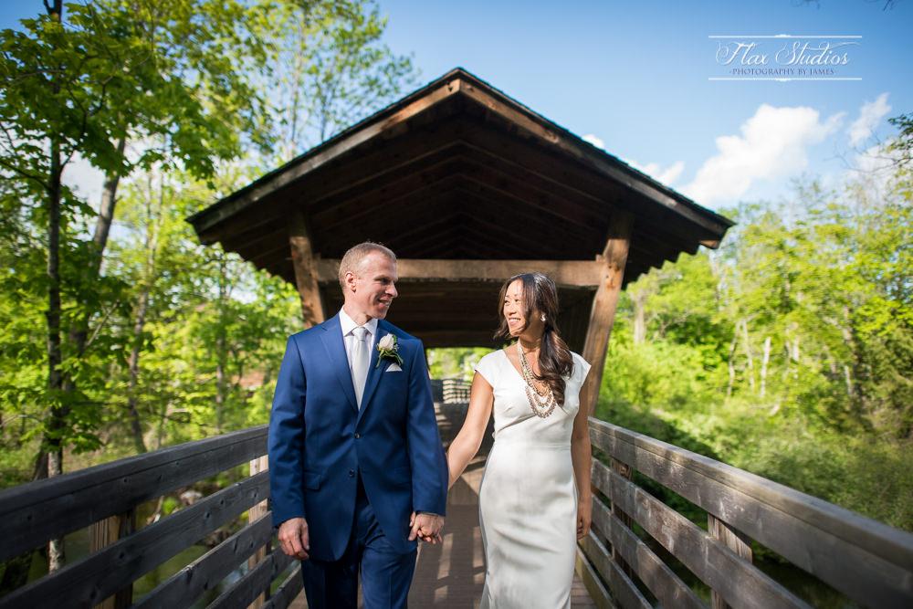 Covered Bridge Wedding Photos Flax Studios