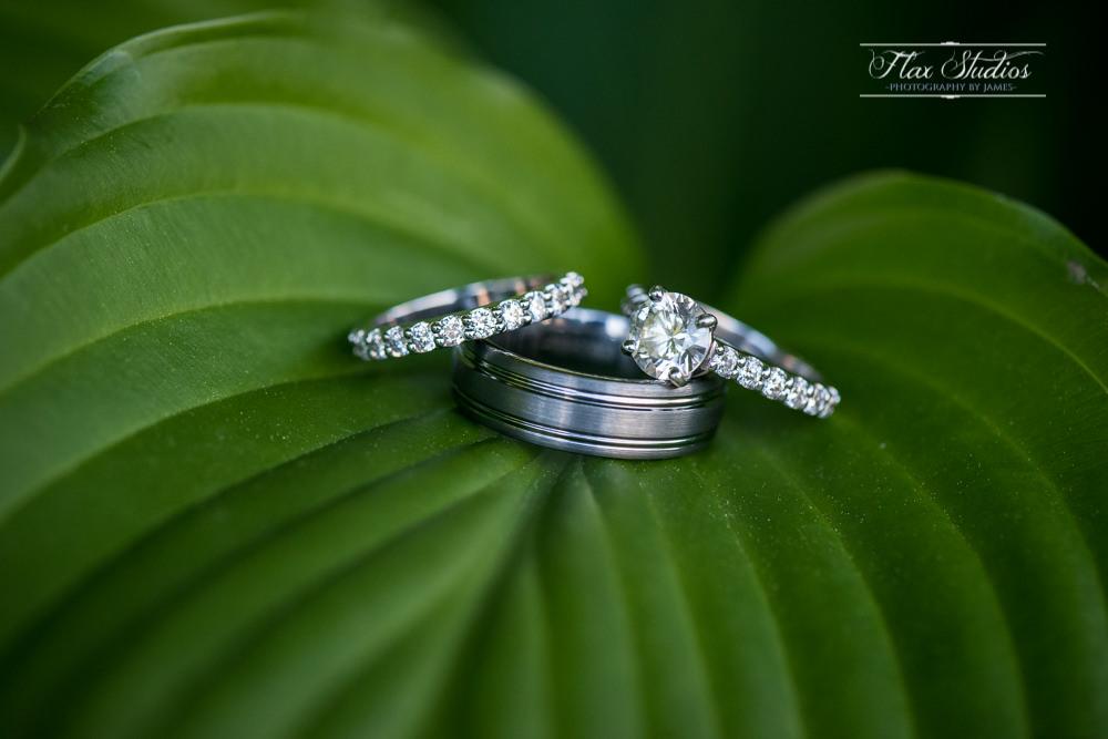 Wedding ring macro shots flax studios
