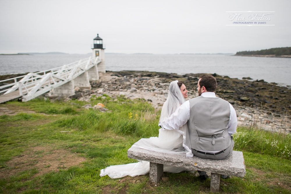 romantic maine wedding photographers