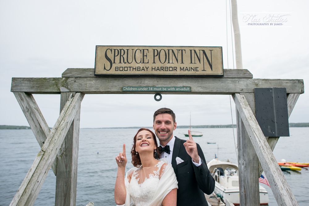 Spruce Point Inn Dock