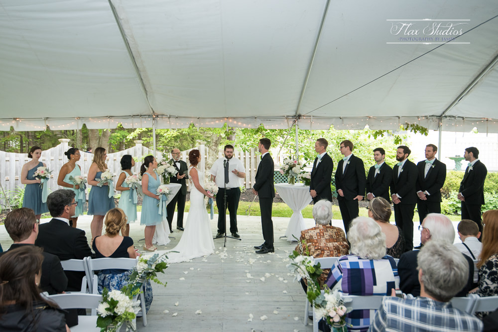 Spruce Point Inn Tented Wedding