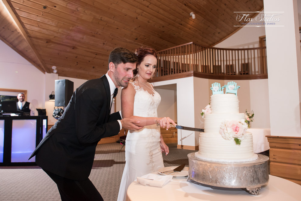Funny Wedding Cake Cutting