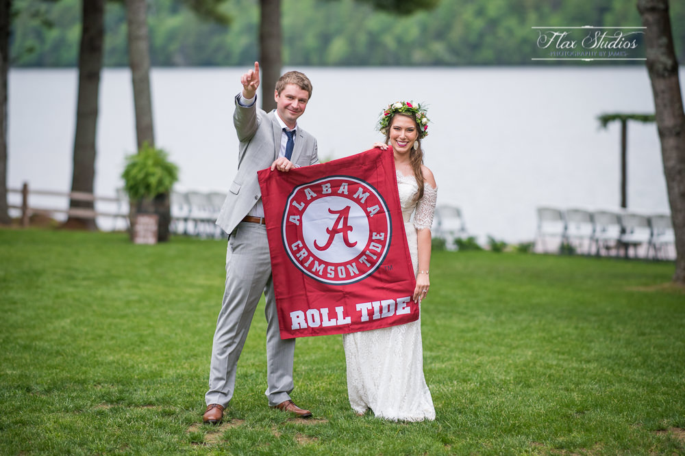 Alabama Roll Tide Wedding