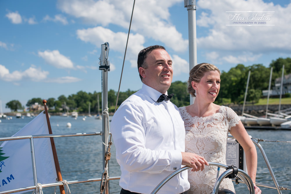 Camden Maine Harbor Wedding Flax Studios