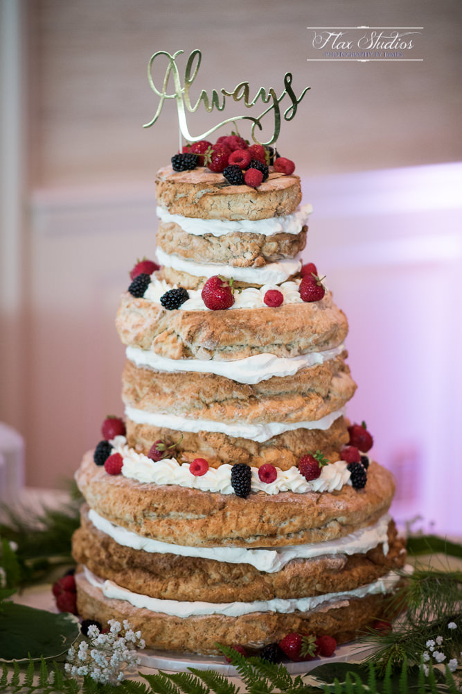 Sweet Sensations Wedding Cake Flax Studios
