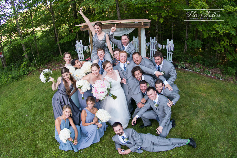 goofy bridal party photo ideas