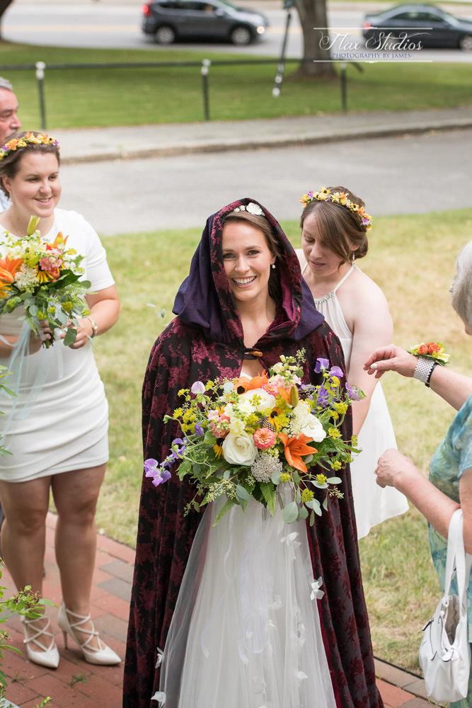 Bridal cloak