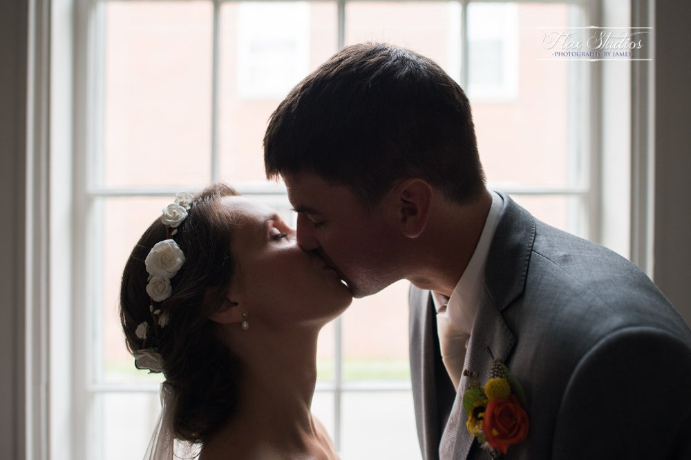 intimate bride and groom portraits