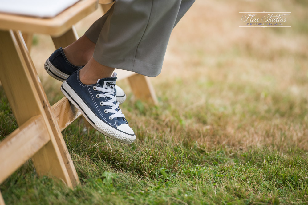 Chuck Taylor wedding shoes