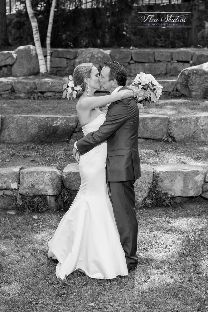 black and white wedding photos camden maine