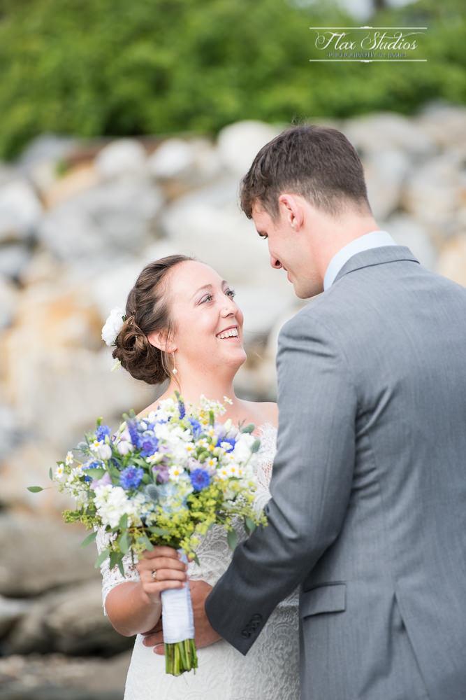 Brides first look