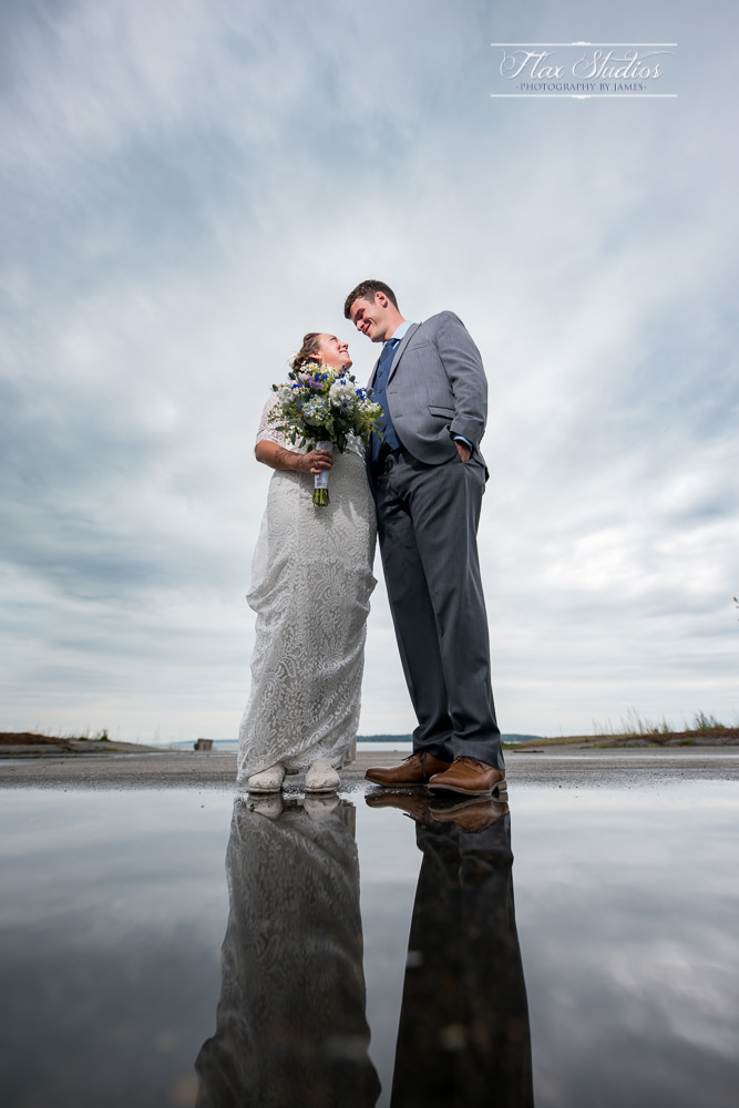 Using Off Camera Flash and Puddles
