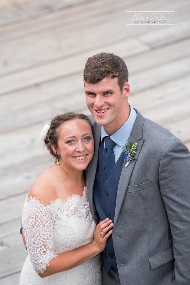 Vertical wedding portraits