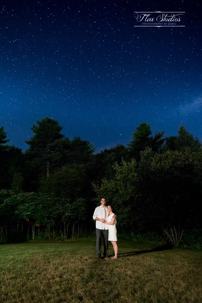 wedding photos under the stars flax studios astrophotographer