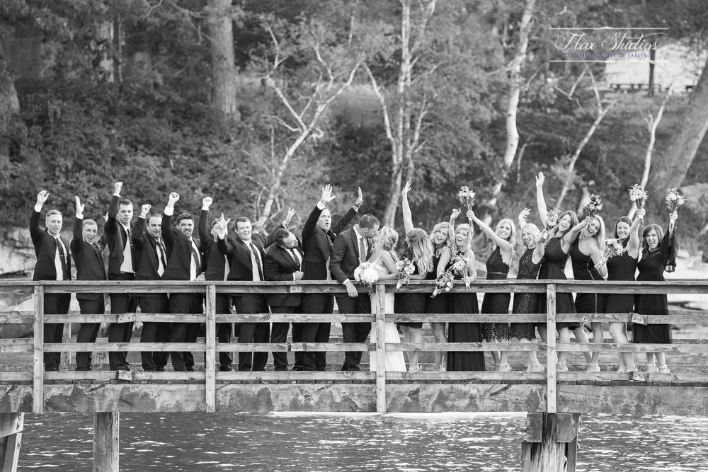 Peaks Island Maine Wedding dock photos