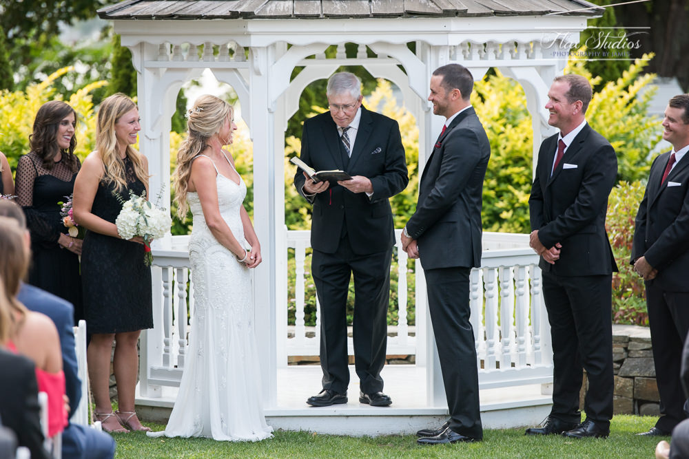Peaks Island Maine Wedding Ceremony