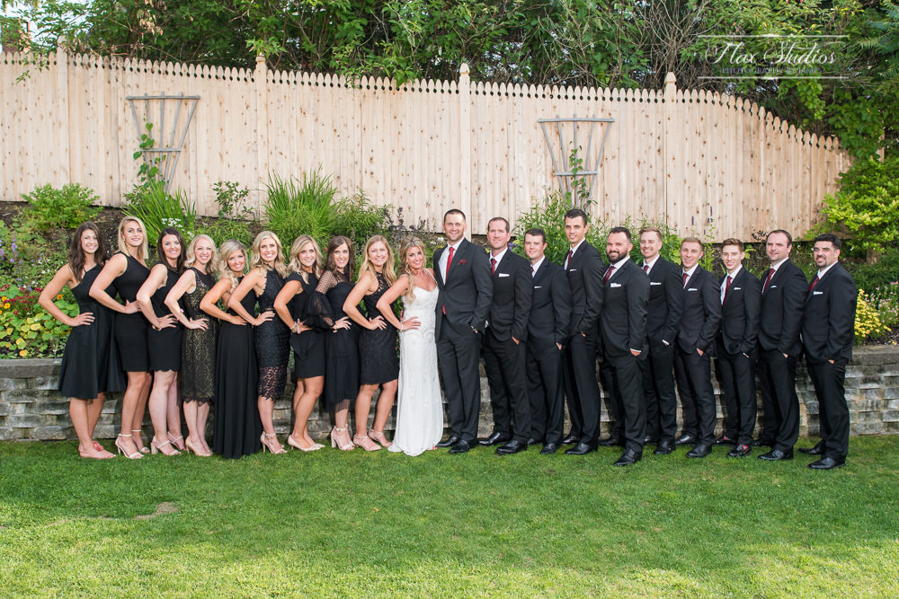 bridal party formal photos