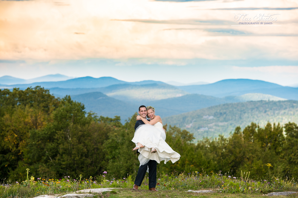 Sunday River North Peak Lodge Wedding Photographer Flax Studios