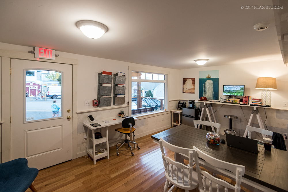 Turnkey vacation rental office in downtown boothbay harbor