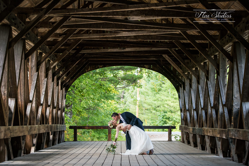 Bethel Maine Covered Bridge Dip Kiss