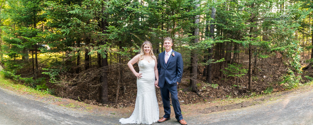panorama wedding photography
