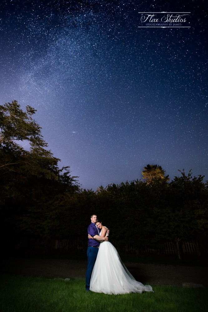 Wedding Astrophotography Flax Studios Maine Weddings