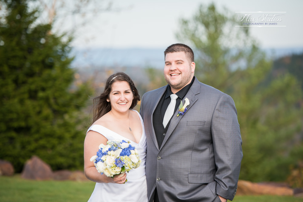 bride and grooms portraits
