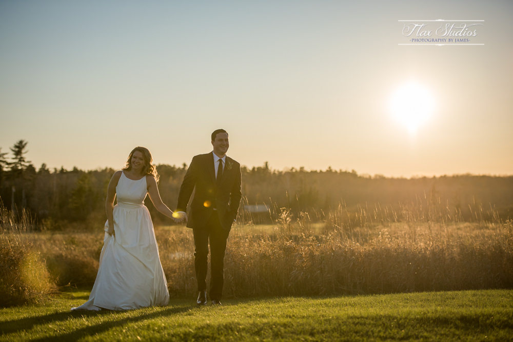 dreamy sunset wedding photos