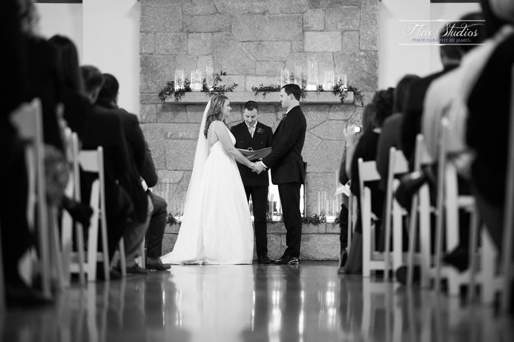 black and white wedding ceremony photos