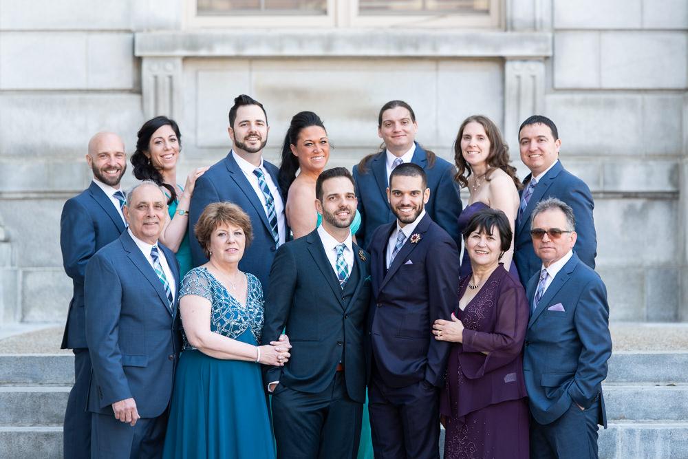 Portland city hall family formals