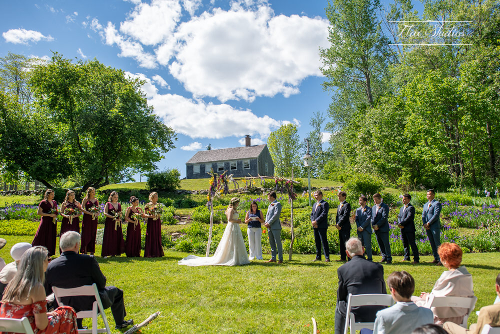 Castine Maine Outdoor Ceremony Locations