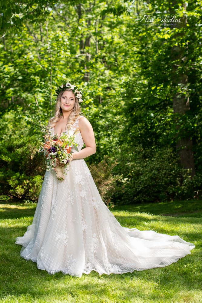 Castine Maine Bridal Portraits