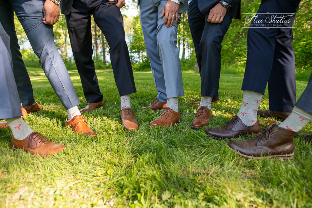 Lobster socks groomsmen