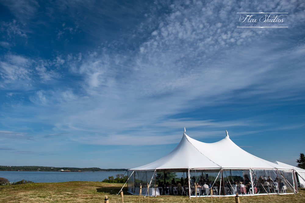 North Haven Wedding tent