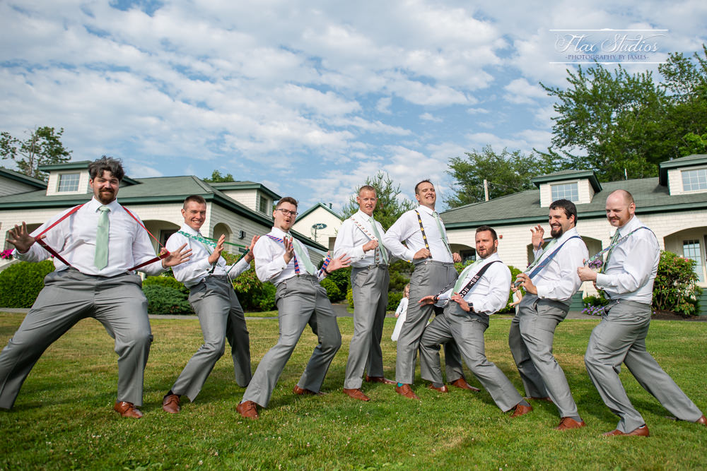 personalized groomsmen suspenders Maine