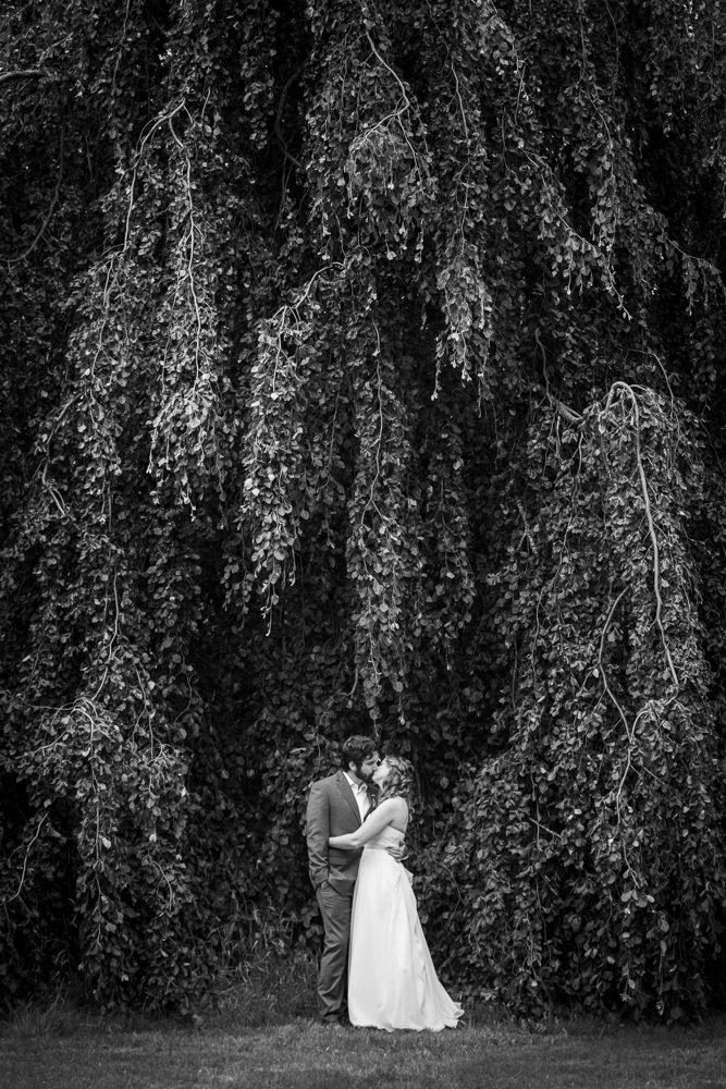 Castine Maine Weddings Flax Studios black and white