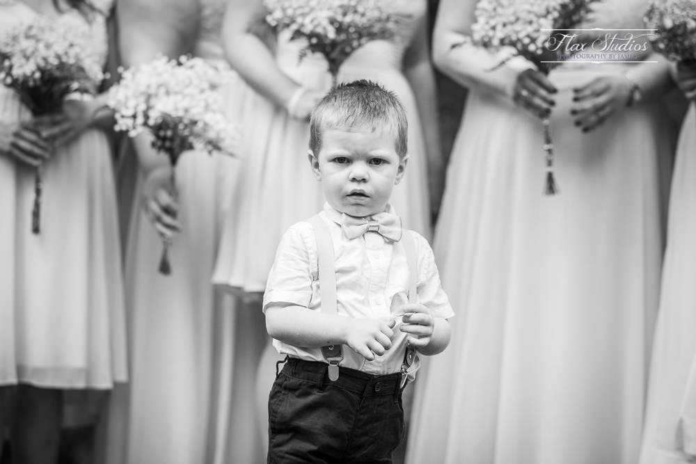 unhappy ring bearer