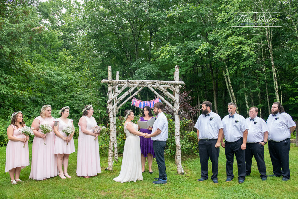 Caswell Farm wedding field